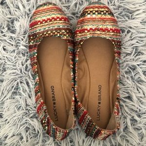 NWOT Lucky Brand Emmie Flats
